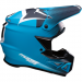 Moose Racing F.I. Agroid Helmet - MIPS - Navy/Light Blue - XS