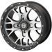Moose Racing Wheel - 545MO - 15X7 - 4/110