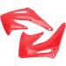 Acerbis Radiator Shrouds - CR450F - Red