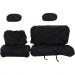 Moose Racing Seat Cover - Black - Ranger