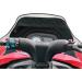 Parts Unlimited Polaris Snowmobile Windshield Bag - Black
