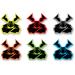 Moose Racing Agroid Decal - 6 Pack