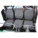 Moose Racing Seat Cover - Black - Viking