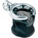 "Kuryakyn Chrome Universal Drink Holder with Basket and Clamp for 1"" Handlebars"