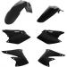 Acerbis Plastic Body Kit - Black - KX250F