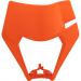 Acerbis Headlight Mask - Orange - KTM