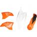 Acerbis Plastic Body Kit - Black/Orange/White - SX65 - '12