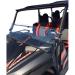 Moose Racing Full Folding Windshield - Wolverine