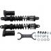 "Progressive Suspension 970 Series Piggyback Shocks - Gloss Black/Matte Black - 15.00"""
