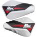 Rox Speed FX Red/White/Black Flex Tec Handguards