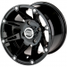 Moose Racing Wheel - 387B - 12X8 - 4/110 - 2+6