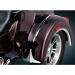 Kuryakyn Top Fender Accents - Chrome