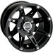 Moose Racing Wheel - 387B - 12X8 - 4/136 - 4+4