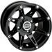 Moose Racing Wheel - 387B - 12X8 - 4/156 - 4+4