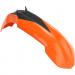 Acerbis Plastic Front Fender - Orange/Black - SX65