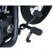 Kuryakyn Heavy Switchblade Peg - Black - With Adapter