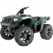 Moose Racing Wheel - 393B - 12X7 - 4/136 - 4+3