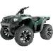 Moose Racing Wheel - 393B - 12X8 - 4/156 - 4+4