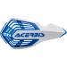 Acerbis White/Blue X-Future Handguards