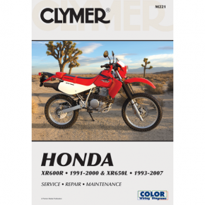 Clymer Manual - Honda XR600R/XR650L