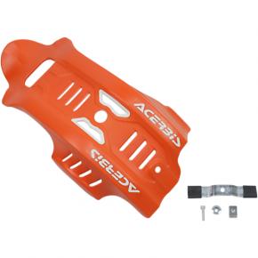 Acerbis Skid Plate - 450 SX-F - Orange/White