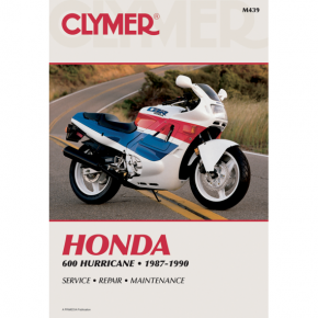 Clymer Manual - Honda CBR600 Hurricane
