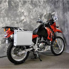 Happy Trails Products Aluminum Pannier Kit OWYHEE  KLR650A '87-'07