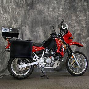 Happy Trails Products Aluminum Pannier Kit TETON  KLR650A '87-'07