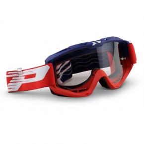 3450 Riot Goggles - Blue/Red - Light Sensitive