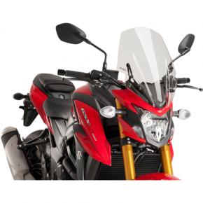 PUIG Race Windscreen - Clear - Tour - Suzuki