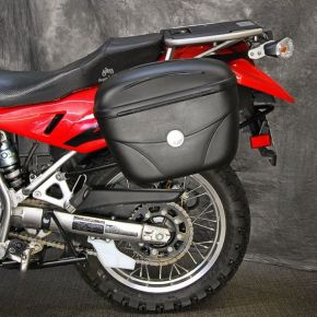 GIVI USA Motorcycle Accessories E22 GIVI Luggage Kit Kawasaki KLR650E 2008+