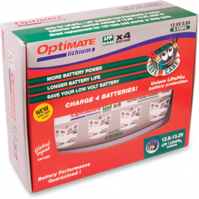 Optimate Lithium Charger - 0.8A 4x