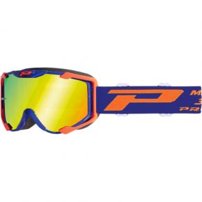 3404 Menace Goggles - Fluorescent Orange/Blue - Mirror
