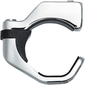 Kuryakyn Pipe Wrench Fork Mounts - Chrome