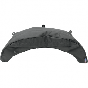 Parts Unlimited Polaris Snowmobile Windshield Bag - Black