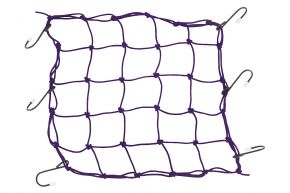 "Bikemaster Stretch Net - Purple - 13"" x 13"""