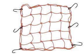 "Bikemaster Stretch Net - Orange - 13"" x 13"""