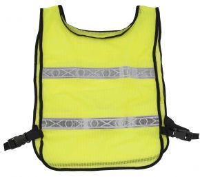 Bikemaster Reflector Safety Vest - Fluorescent Lime - One Size