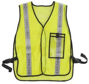 Bikemaster Motorcycle Safety Vest - Fluorescent Lime - One Size