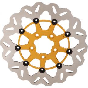 Galfer Braking Wave® Rotor - Gold Center - Front