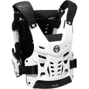 Moose Racing Synapse Lite Pro Roost Deflectors - White/Black - M/L