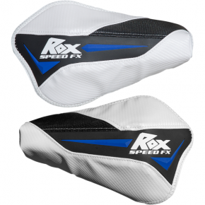 Rox Speed FX Blue/White/Black Flex Tec Handguards