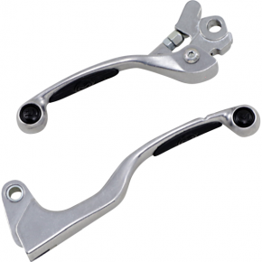 Moose Racing Black Competition Lever Set for YZ/YZF