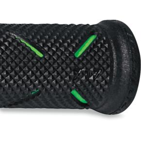 Green/Black 717 Grips w/ Open Ends