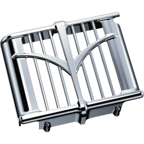 Kuryakyn Oil Cooler Cover - Chrome - Indian