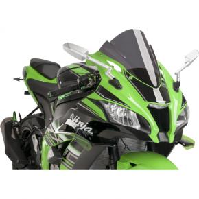 PUIG Race Windscreen - Dark Smoke - ZX10R