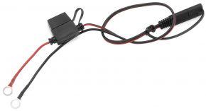 Bikemaster Battery Charger Leads - Black