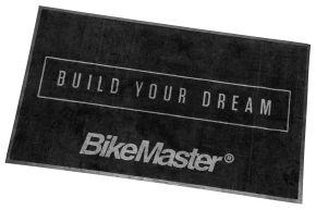 Bikemaster Shop Mat - Black