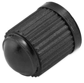 Bikemaster Plastic Valve Caps - Black - 100 pcs.