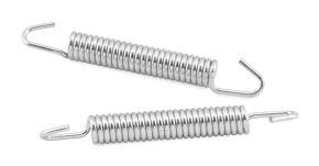 Bikemaster Exhaust Springs - Silver - 67mm